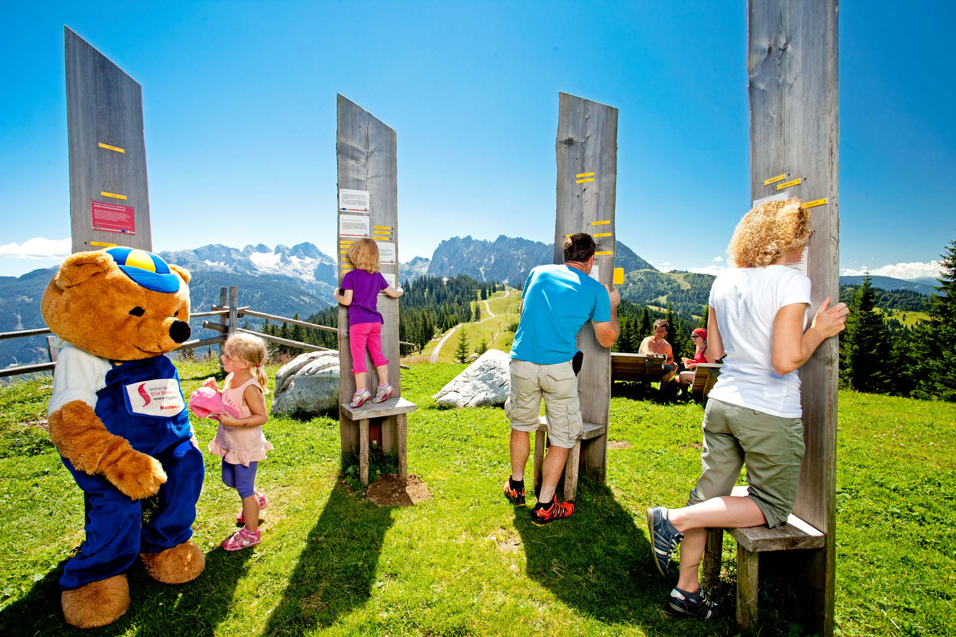 Bruno's world, mountains, games, fun, children, family, Dachstein West, Dachstein, summer, hiking, nature, Salzburg, Austria