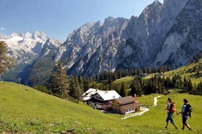 Gosaukammrundweg, Wandern Dachstein West, Russbach, Annaberg, Salzburg, Österreich, Wandergebiet, Berge, Natur, Sommer