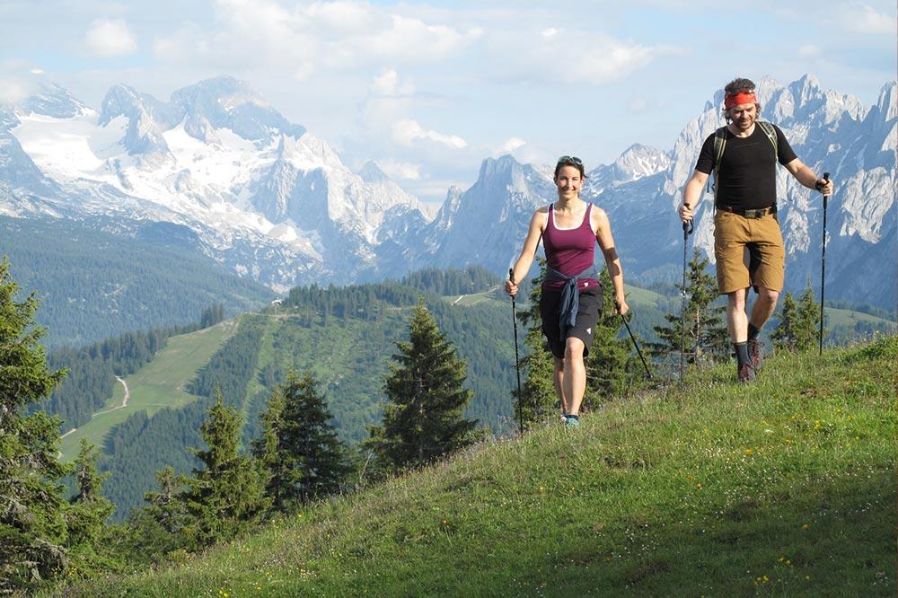 Panorama hiking path, hiking, Dachstein West, nature, mountains, alps, summer, holidays, Russbach, Annaberg, Dachstein, Salzburg, Austria