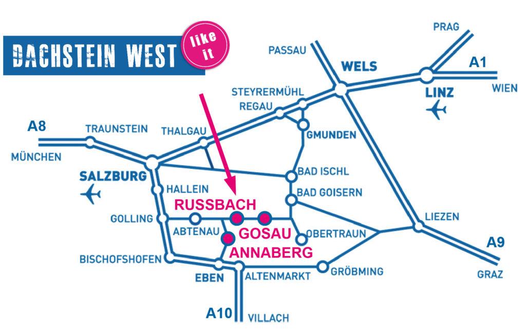 Contact and information, Russbach, Annaberg, Dachstein West, Salzburg, Austria