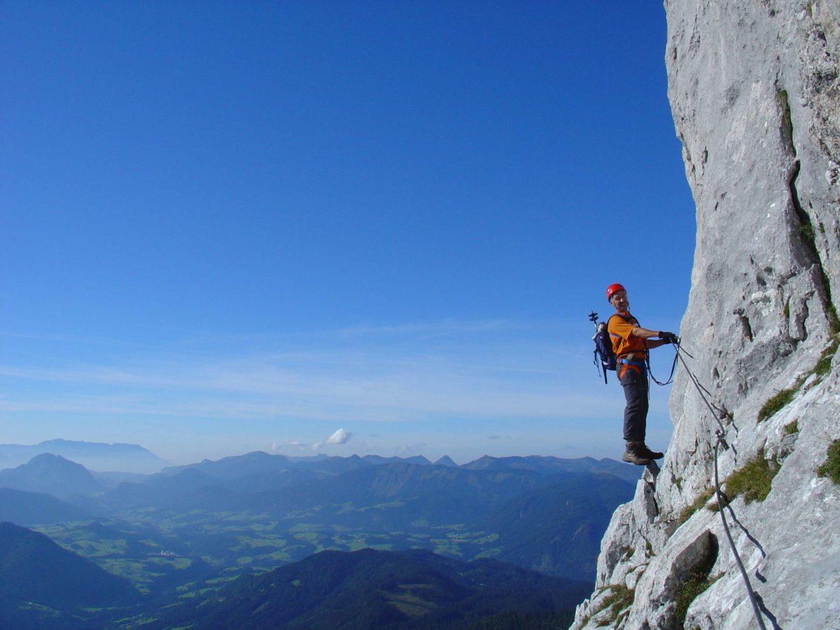 Via ferrata, climbing, mountains, nature, Dachstein West, Dachstein, Salzburg, Austria, sports, outdoor
