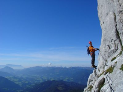 Via ferrata, climbing, mountains, nature, Dachstein West, Dachstein, Salzburg, Austria, sports, outdoor