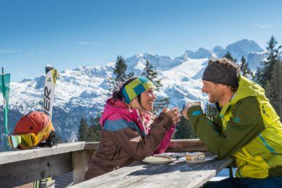 Ski huts, Schneewalzer weeks, skiing package, skiing holiday, Dachstein West, skiing, family, children, Salzburg, Austria